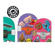 Book Stickerbomb Skate - 150 Classic Skateboard Stickers
