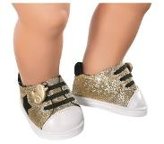 Baby Born - Trend Sneakers - Gold (826997G)