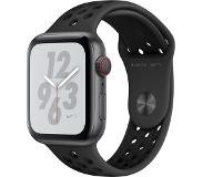 Apple Watch Nike+ Series 4 GPS + Cellular 44mm (Tähtiharmaa/Musta Sport Band)