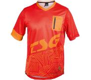 TSG SP3 Jersey T-Shirt red / acid orange Koko M