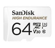 SanDisk High Endurance flash-muisti 64 GB MicroSDXC Luokan 10 UHS-I