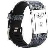 fitbit Charge 2 pattern printing watch strap - Size: L - Aus