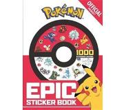 Book The Official Pokemon Epic Sticker Book