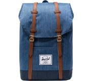 Herschel Retreat Backpack 19,5l, faded denim/indigo denim 2019 Vapaa-ajan reput