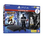 Sony PS4: PS4 1 TB + Playstation Hits (u4, Ratchet & The Last Of Us)