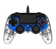 Nacon Wired Compact PS4 Controller Illuminated, sininen LED
