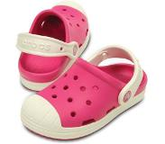 Inget (Storm) Toffel Bump it, Rosa/vit, Crocs