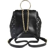 Love Moschino Shiny Quilted Reppu musta