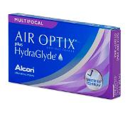 Alcon Air Optix plus HydraGlyde Multifocal (3 linssiä)