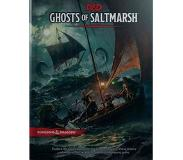 Book Dungeons&Dragons Ghosts of Saltmarsh Hardcover Book (D&d Adventure)