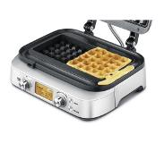 Sage The Smart Waffle vohvelirauta BWM620UK (hopea)