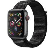 Apple Watch Series 4 GPS + Cellular 44mm (Musta Sport Loop)