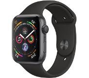 Apple Watch Series 4 44mm (harmaa/musta urheiluranneke)