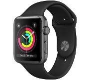 Apple Watch Series 3 42mm (harmaa sporttiranneke)