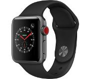 Apple Watch Series 3 GPS + Cellular 38mm Harmaa