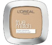 L'Oréal Make-Up Designer True Match Powder W5 Golden Sand puuteri 1