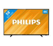 "Philips 58"" UHD LED LCD televisio PHILIPS 58PUS6504, SAPHI smartTV"