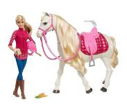 Barbie Mattel Barbie Dream hevonen FR - Barbie Dreamhorse dukker FRV36