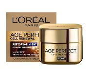 L'Oréal Age Perfect Cell Renew Night Cream For Skin Cells Recovery 50 ml