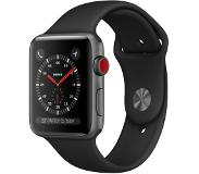 Apple Watch Series 3 GPS + Cellular 42mm (Musta urheiluranneke)