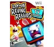 Ubisoft Wii Rayman Raving Rabbids TV Party