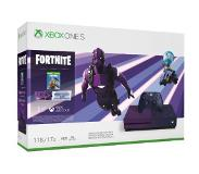 Microsoft Xbox One S + Fortnite Battle Royale Purppura 1000 GB Wi-Fi