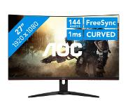 "AOC Gaming C27G1 LED display 68,6 cm (27"") 1920 x 1080 pikseliä Full HD Kaareva Musta"