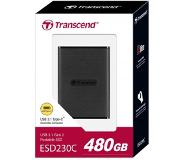 Transcend ESD230C PORTABLE SSD 480GB