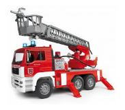 BRUDER MAN Fire engine with selwing ladder leluajoneuvo