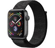 Apple Watch S4 44mm Harmaa/Musta+Loop MU6E2KS