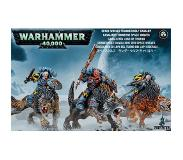Citadel Miniatures Space Wolves Thunderwolf Cavalry