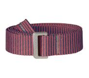 Fjällräven Striped Webbing Belt Women's Peach Pink
