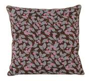 Inget (Storm) Ferm Living Flower Salon Cushion Mixade fibrer 40 x 40 cm Rust