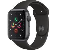 Apple WATCH SERIES 5 44 MM TÄHTIHARMAA ALUMIINI/MUSTA SPORT BAND