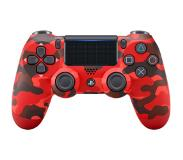 Sony Playstation 4 Dualshock v2, Red Camouflage