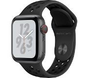 Apple Watch Nike+ Series 4 (GPS + Cellular) 40mm - Space Grey Alu with Antracit/Black Nike Sport Band