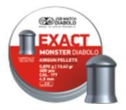 Jsb Exact Monster 4,52mm 0,87g 400/ras