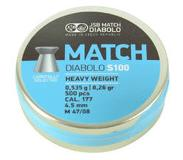 Jsb Match Diabolo S100 4,49mm 0,535g 500/ras