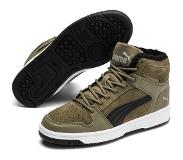 Puma Rebound Lay Up Fur Jr Tennarit, Burnt Olive 38