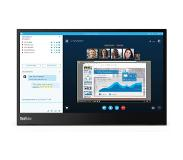"Lenovo ThinkVision M14 LED display 35,6 cm (14"") 1920 x 1080 pikseliä Full HD Matta Musta"