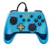 PowerA Controller Chrome - Blue Zelda - Peliohjain - Nintendo Switch