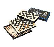 Philos Backgammon 3 in 1 travel set 30mm