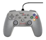 Steelplay Switch: Steelplay - Wired Ohjain Classic SN Grey