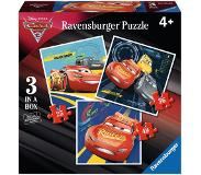 Ravensburger - Puzzle 3in1 Cars: Exciting Race - 15-39 pala