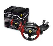 Thrustmaster Ferrari Red Legend Edition - Ratti & polkimet -setti - Sony PlayStation 3