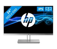"HP EliteDisplay E243 LED display 60,5 cm (23.8"") 1920 x 1080 pikseliä Full HD Musta, Hopea"