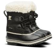 Sorel Youth Pac Nylon Talvikengät, Black 30