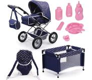 Bayer - Dolls Pram Combi Grande Set (15051AB)