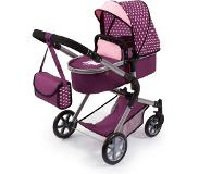 Bayer - Dolls Pram City Neo - Purple (18137AA)