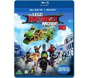 LEGO The LEGO Ninjago Movie (Blu-ray 3D + Blu-ray)